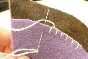 Blanket stitch shortcut