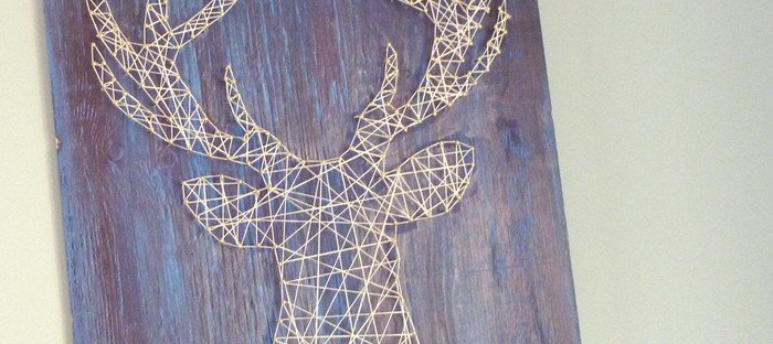 Blog little stuff little stuff you can make and do yourself page 2 deer head string art solutioingenieria Images