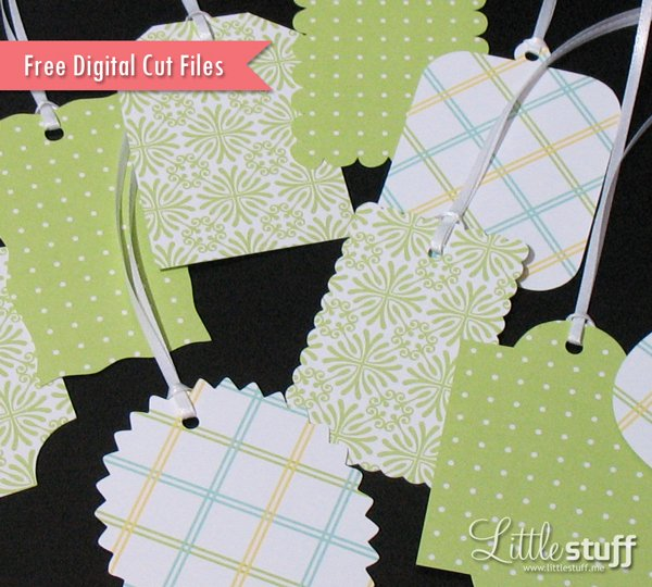 Free Tag Digital Cut Files, SVG and Silhouette Studio